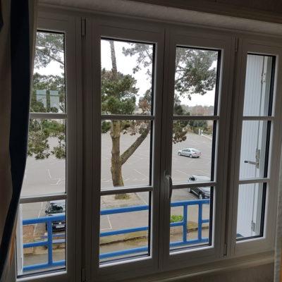 Fenêtre mixte bois/alu Minco